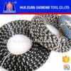 A corda de fio nova do diamante da chegada de Huazuan considerou para a estaca de pedra