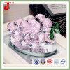 Decoração de cristal cor-de-rosa do carro da uva (JD-CF-306)
