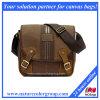 Sacchetto unisex del messaggero del sacchetto di spalla del banco del testo fisso del cuoio del sacchetto di spalla del messaggero della nuova di stile tela di canapa dell'annata (MSB-032)