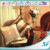 Qualität Square Silk Febric Cushion mit Lace