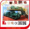 Máquina de fabricación de ladrillo grande del hueco del fango del suelo del horno de túnel de la capacidad (HD75)