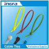 De zelfsluitende Gekleurde Nylon Banden van de Omslag van de Kabel voor Binnen en OpenluchtBundel