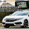 Android HD GPS Interfaz de vídeo para el 2016 Honda Civic MirrorLink, Vídeo Vista panorámica, control de voz, Android APP