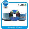 Preiswertester Preis bedruckbares DVD in der 50PCS Tortenschachtel