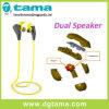Écouteur sans fil coloré de Bluetooth V4.1 de sport d'écouteur avec les haut-parleurs duels