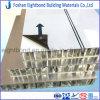 15 ans de garantie de la couleur PVDF de panneau en aluminium enduit blanc de nid d'abeilles pour les façades externes