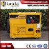 El poder de la unidad de 50Hz 7kVA 7kw de potencia Generador Diesel insonorizado