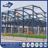 Edificio prefabricado de dos pisos fácil de la estructura de acero de Intalled