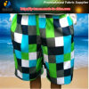 Stampa per i pantaloni della spiaggia, tessuto del tessuto della pelle della pesca della saia del poliestere del poliestere