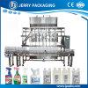 Aérosol entièrement automatique et de pulvérisation et l'embouteillage de liquides inflammables et machine de remplissage de bouteilles
