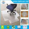 Produits de bureau Tapis en plastique en PVC pour sols durs, 45 X 53 pouces, rectangulaire avec lèvre pour sous-bureau