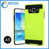 PC+TPU amincissent le cas de téléphone mobile d'armure pour Samsung A5
