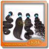 黒いカラーKabeiluからのブラジルの毛のよこ糸