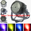 La PARITÉ imperméable à l'eau extérieure 64 du DJ bon marché 54X3w RGBW DEL d'Américain peut présenter la lumière