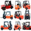 10 Vrachtwagens van /Forklift van de Vorkheftruck van de Pallet van de ton de Dieselmotor Aangedreven