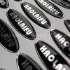 3D Sticker, Custom Clear Domed Sticker, Epoxy Sticker; 에폭시 돔 스티커