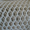 Malha hexagonal branca / rede plana plástica