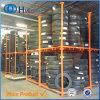 Hochleistungsstapelnde Lager-Gummireifen-Stahlzahnstange für Verkauf
