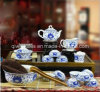 Bouilloire de vaisselle de vaisselle de porcelaine de Jingdezhen réglée (QW-805)
