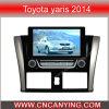 Reproductor de DVD especial de Car para Toyota Yaris 2014 con el GPS, Bluetooth. (CY-8117)