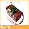 Li-ion 18650 de Grote Navulbare Capaciteit van het Pak van de Batterij 24V 13ah,