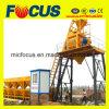 Hzs75 bevestigde Concrete het Groeperen Installatie met Concrete Mixer Js1500