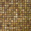 Bronze-Coloured 민물 포탄 모자이크 타일, Backsplash 의 목욕탕 (CFM-BR-SQ20)