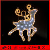 CE&RoHS LED 2D Christmas Reindeer Motif Holiday Light