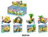 Educacional brinquedo de plástico Kid DIY Building Block Puzzle (9039104)