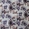 tela do Voile 100%Cotton para os fatos com a flor impressa (60X60/90X88)
