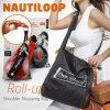 Хозяйственная сумка плеча Nautiloop, свертывает вверх мешок, складной мешок