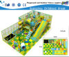Castelo impertinente do campo de jogos plástico interno da corrediça (HC-22338)