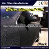 Черным блестящим алмазные пленки Car наматывается виниловая пленка из ПВХ