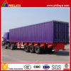 Heißer 3 Wellen-Ladung-Transport Detachable Van Trailer