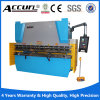 O CNC pressiona o freio, freio da imprensa hidráulica, máquina do freio da imprensa da placa
