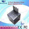 4 GSM van de haven Modem die 2400 SMS verzenden
