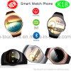 Tela redonda Vigilância inteligente Bluetooth Telefone com frequência cardíaca K18