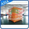 Aerostati stampati di pubblicità gonfiabili del cubo dell'elio