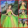 Платье венчания, Bridal мантия, платье вечера (Gillis00021)
