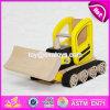 De nieuwe Bulldozer W04A292 van het Stuk speelgoed van het Spel van de Jonge geitjes van het Ontwerp Grappige Houten