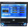 7 Speler van de Auto DVD van de duim de Enige DIN (7100)