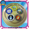 3D Metal Coin pour Military Use