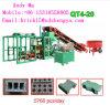 Venda concreta hidráulica durável Nigéria da máquina de fatura de tijolo da maquinaria Qt4-20 de China