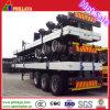 O transporte de contentores de 40 pés cama plana semi reboque para o Norte de África