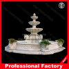 Le marbre sculptées en pierre Fontaine à eau pour l'extérieur Jardin / Paysage / Yard