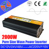 2000W mejor calidad y buen precio CC CA de onda sinusoidal pura inversor de la energía solar