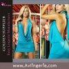 Сексуальные прелестно глубокие открытые v передние назад одевают (SK02-003e)
