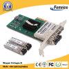 Vierling 4 van Pcie X4 SFP van Havens LAN van de Server Ethernet van de Vezel van Intel I350 Chipset 1gbps van de Groef Optische Kaart