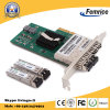 Pcie X4 Quad 4 Ports SFP Slot 인텔 I350 Chipset 1gbps Fiber Optical Ethernet Server 근거리 통신망 Card