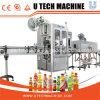 El etiquetado de limitación de la línea de envasado de líquidos, Automática, máquina de llenado